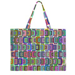 Psychedelic 70 S 1970 S Abstract Large Tote Bag