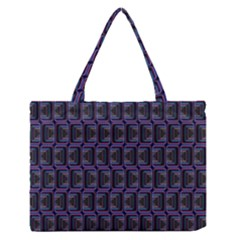 Psychedelic 70 S 1970 S Abstract Medium Zipper Tote Bag