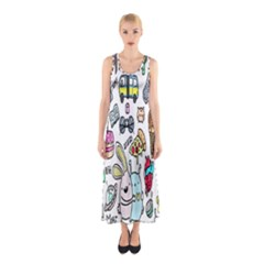 Story Of Our Life Sleeveless Maxi Dress