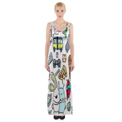 Story Of Our Life Maxi Thigh Split Dress