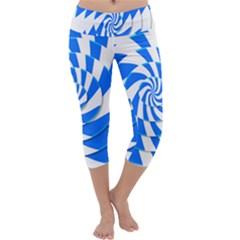 Swirl Capri Yoga Leggings
