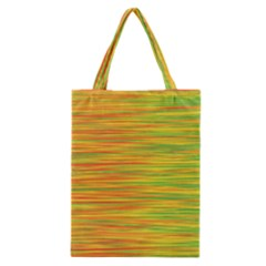 Green and oragne Classic Tote Bag