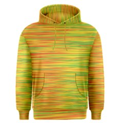 Green and oragne Men s Pullover Hoodie