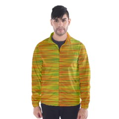 Green and oragne Wind Breaker (Men)
