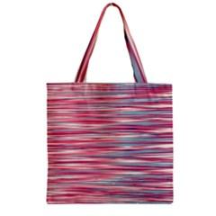 Gentle design Zipper Grocery Tote Bag