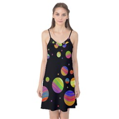 Colorful galaxy Camis Nightgown
