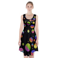 Colorful galaxy Racerback Midi Dress