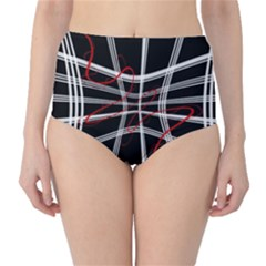Not so simple 2 High-Waist Bikini Bottoms