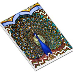 The Peacock Pattern Large Memo Pads