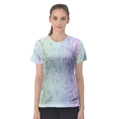 The Background Wallpaper Mosaic Women s Sport Mesh Tee