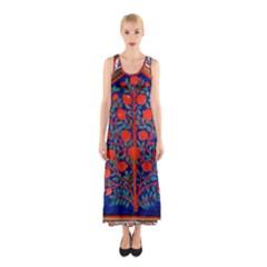 Tree Of Life Sleeveless Maxi Dress