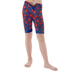 Tree Of Life Kids  Mid Length Swim Shorts