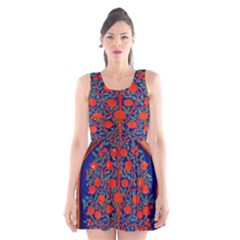 Tree Of Life Scoop Neck Skater Dress