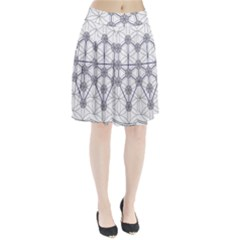 Tree Of Life Flower Of Life Stage Pleated Skirt