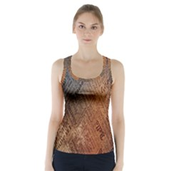 Typography Racer Back Sports Top