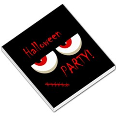 Halloween party - red eyes monster Small Memo Pads