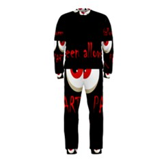Halloween party - red eyes monster OnePiece Jumpsuit (Kids)