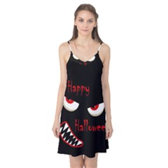 Happy Halloween - red eyes monster Camis Nightgown