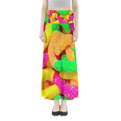 Neon Patterns Maxi Skirts