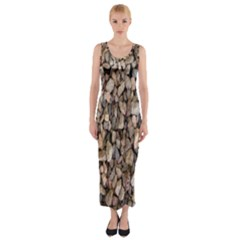 Nitter Stone Fitted Maxi Dress