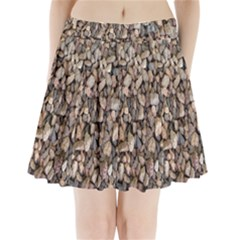 Nitter Stone Pleated Mini Skirt