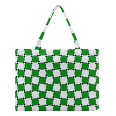 Optical Illusion Medium Tote Bag