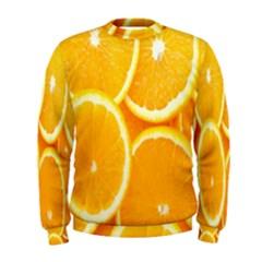Orange Fruit Men s Sweatshirt