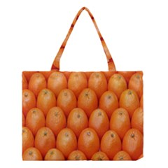Orange Fruits Medium Tote Bag