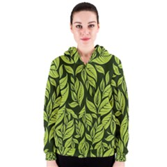 Palm Coconut Tree Women s Zipper Hoodie