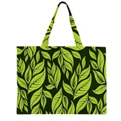 Palm Coconut Tree Large Tote Bag