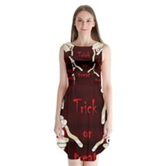 Halloween Mummy Sleeveless Chiffon Dress