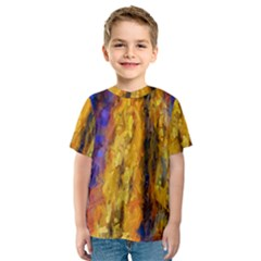 Abstract Kids  Sport Mesh Tee