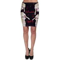 Halloween mummy party Bodycon Skirt