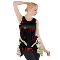 Halloween Mummy Party Side Drop Tank Tunic