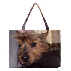 Norwich Terrier Chillin Medium Tote Bag