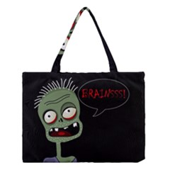 Halloween Zombie Medium Tote Bag