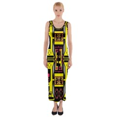 =p=p=yjyu Fitted Maxi Dress