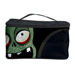 Halloween zombie on the cemetery Cosmetic Storage Case