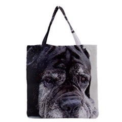 Neapolitan Mastiff Grocery Tote Bag