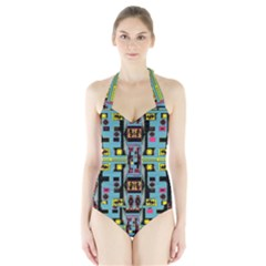 Dvd Halter Swimsuit