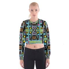 Dvd Women s Cropped Sweatshirt