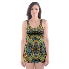 =p=p=yjyutbp[ jhm (2)btthbfv Skater Dress Swimsuit