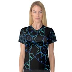 Clothing (127)tht Women s V-Neck Sport Mesh Tee