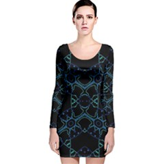 Clothing (127)thtim Long Sleeve Velvet Bodycon Dress