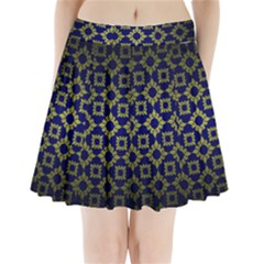 Antique Backdrop Background Baroque Pleated Mini Skirt