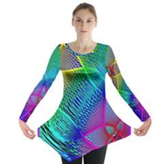 Arrangement Aesthetics Aesthetic Long Sleeve Tunic