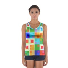 Arrangement Aesthetics Aesthetic  Women s Sport Tank Top