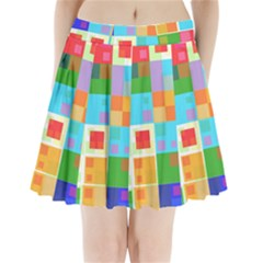 Arrangement Aesthetics Aesthetic  Pleated Mini Skirt