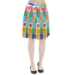 Arrangement Aesthetics Aesthetic  Pleated Skirt