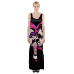 I Know What You Want Maxi Thigh Split Dress